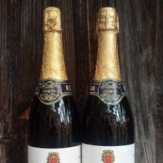Coleccionismo de vinos y licores: DOS BOTELLAS VINO GASIFICADO MONTEMAR. Lote 204129825
