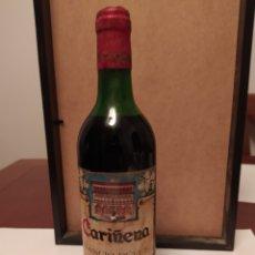 Coleccionismo de vinos y licores: BOTELLA VINO CARIÑENA RANCIO DULCE (VINO AROMATIZADO)SIN ABRIR. Lote 204464113
