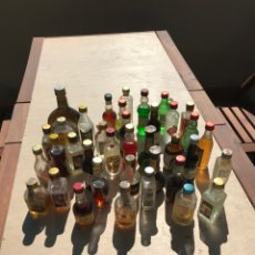 Coleccionismo de vinos y licores: BOTELLINES. Lote 205130783