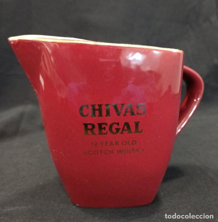 JARRA WHISKY CHIVAS REGAL C11 (Coleccionismo - Botellas y Bebidas - Vinos, Licores y Aguardientes)