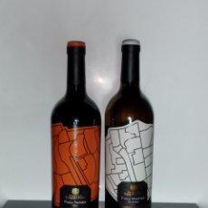 Coleccionismo de vinos y licores: LOTE DE 2 BOTELLAS DE VINO HEREDEROS DEL MARQUÉS DE RISCAL. Lote 205465862