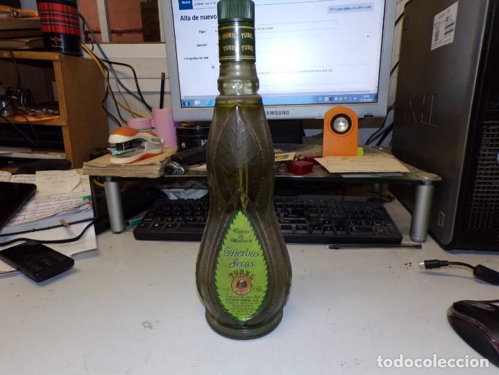 BOTELLA TIPICAS DE MALLORCA HIERBAS SECAS TUNEL (Coleccionismo - Botellas y Bebidas - Vinos, Licores y Aguardientes)