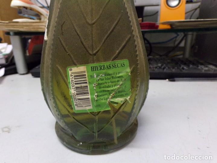 Coleccionismo de vinos y licores: botella tipicas de mallorca hierbas secas tunel - Foto 3 - 206156848