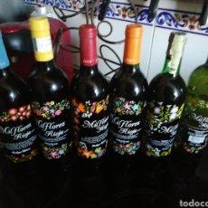 Coleccionismo de vinos y licores: BOTELLAS DE RIOJA MIL FLORES. Lote 206159197