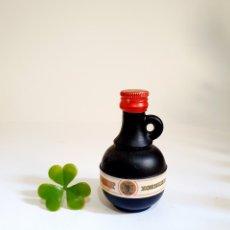 Coleccionismo de vinos y licores: BOTELLITA CALENT XORIGUER 8.2CM VIDRIO LLENA BOTELLIN MINI BOTELLA MINIATURA. Lote 206305651