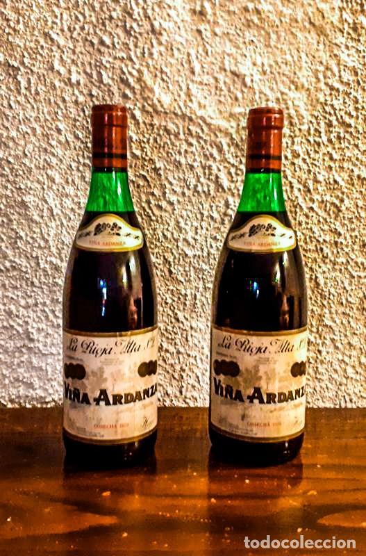 Coleccionismo de vinos y licores: VIÑA ARDANZA RESERVA 1973 - D.O. RIOJA - 4 Botellas - Foto 2 - 177017817