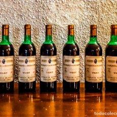 Coleccionismo de vinos y licores: MARQUÉS DE MURRIETA YGAY ETIQUETA BLANCA 1981 - CAJA 6 BOTELLAS. Lote 177018304