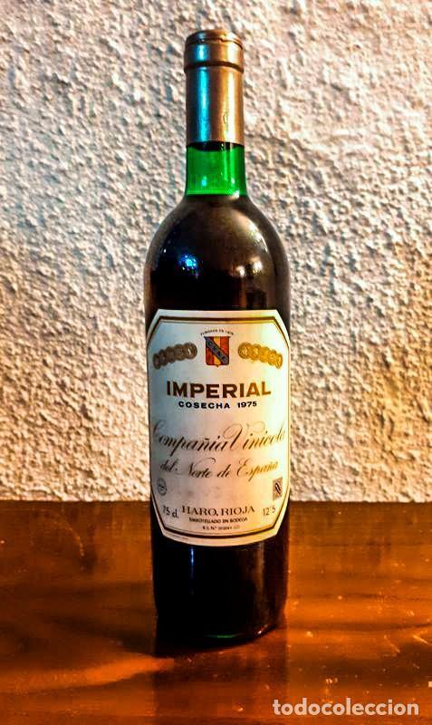 CAJA 12 BOTELLAS - IMPERIAL CVNE RESERVA 1975 - D.O. RIOJA (Coleccionismo - Botellas y Bebidas - Vinos, Licores y Aguardientes)