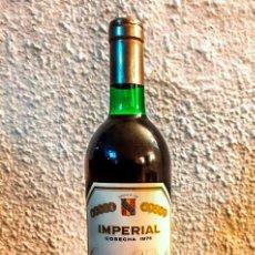 Coleccionismo de vinos y licores: CAJA 12 BOTELLAS - IMPERIAL CVNE RESERVA 1975 - D.O. RIOJA. Lote 177735603