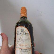 """Coleccionismo de vinos y licores: # VINO - CRIANZA, """" LOS CLAUSTROS """" DE TORRE ORIA. AÑO 1999.. Lote 206769602"""