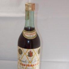 Coleccionismo de vinos y licores: BOTELLA VINTAGE BRANDY COÑAC COGNAC TERRY CENTENARIO. Lote 207043961