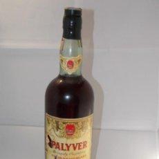 Coleccionismo de vinos y licores: BOTELLA VINTAGE BRANDY COÑAC COGNAC PALYVER. Lote 207044073