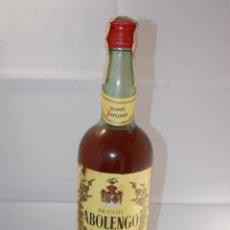 Coleccionismo de vinos y licores: BOTELLA VINTAGE BRANDY COÑAC COGNAC ABOLENGO ROMATE. Lote 207044093