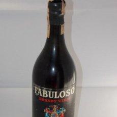 Coleccionismo de vinos y licores: BOTELLA VINTAGE BRANDY COÑAC COGNAC FABULOSO BRANDY VIEJO. Lote 207044181