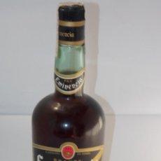 Coleccionismo de vinos y licores: BOTELLA VINTAGE BRANDY COÑAC COGNAC EMINERVA. Lote 207044186