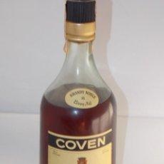 Coleccionismo de vinos y licores: BOTELLA VINTAGE BRANDY COÑAC COGNAC COVEN. Lote 207044212