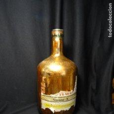Coleccionismo de vinos y licores: BOTELLA COÑAC JOSE BARCELO ALGEZARES MURCIA. Lote 207238042