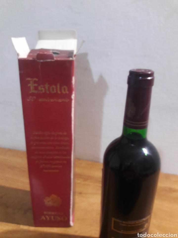 Coleccionismo de vinos y licores: estola vino tinto bodegas ayuso - Foto 4 - 207782875