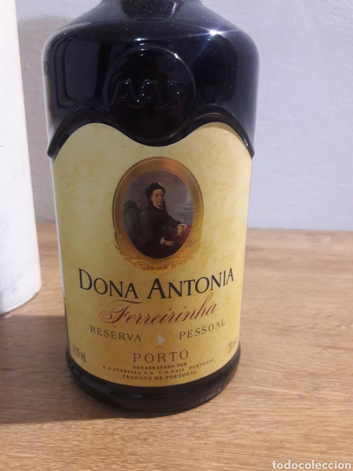 Coleccionismo de vinos y licores: dona antonia porto - Foto 2 - 207783240