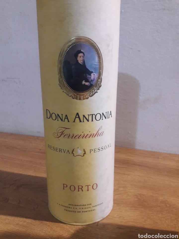 Coleccionismo de vinos y licores: dona antonia porto - Foto 5 - 207783240