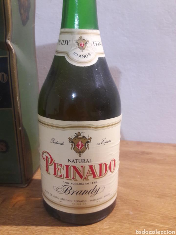 Coleccionismo de vinos y licores: brandi peinado - Foto 2 - 207783557