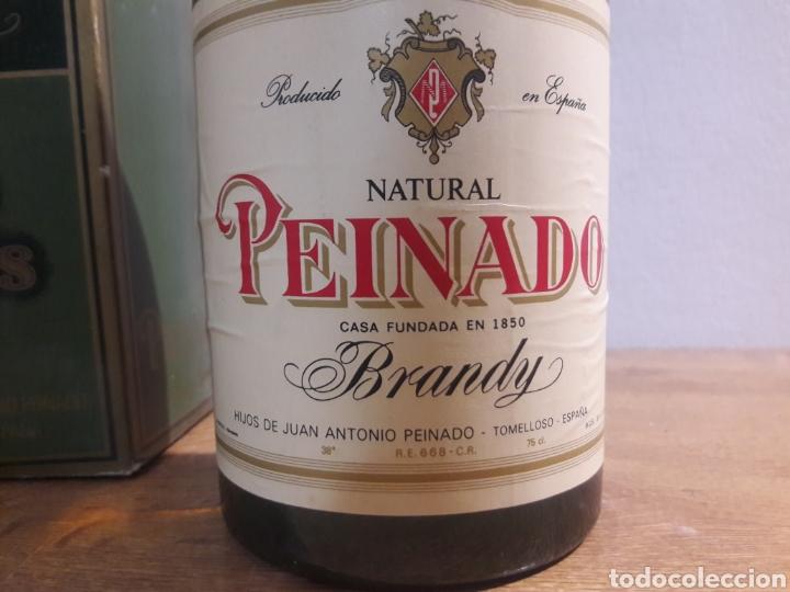 Coleccionismo de vinos y licores: brandi peinado - Foto 3 - 207783557
