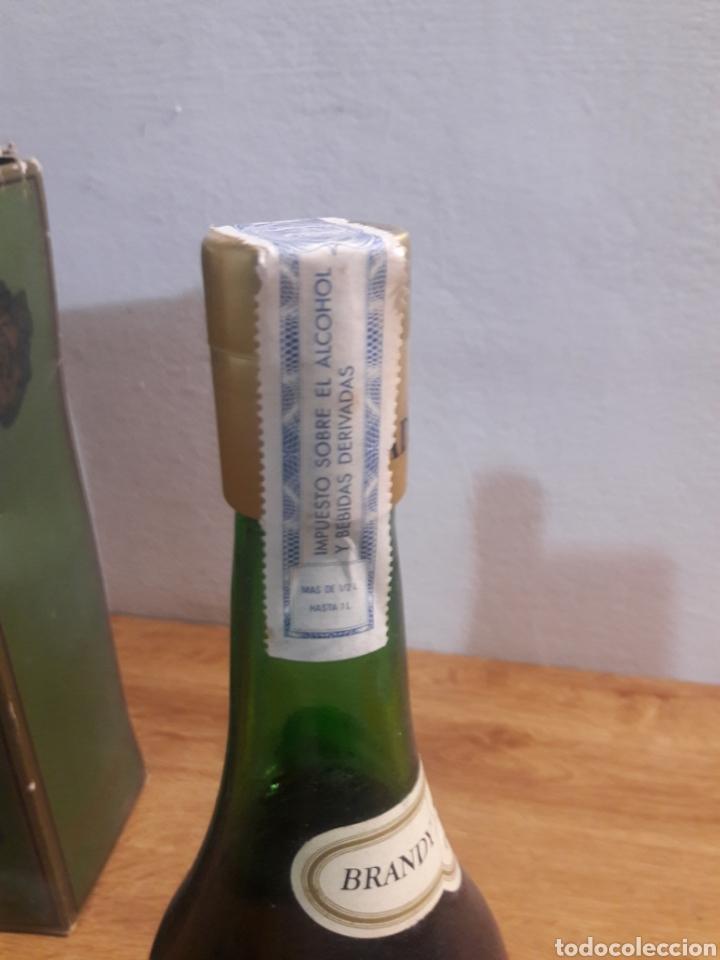 Coleccionismo de vinos y licores: brandi peinado - Foto 4 - 207783557