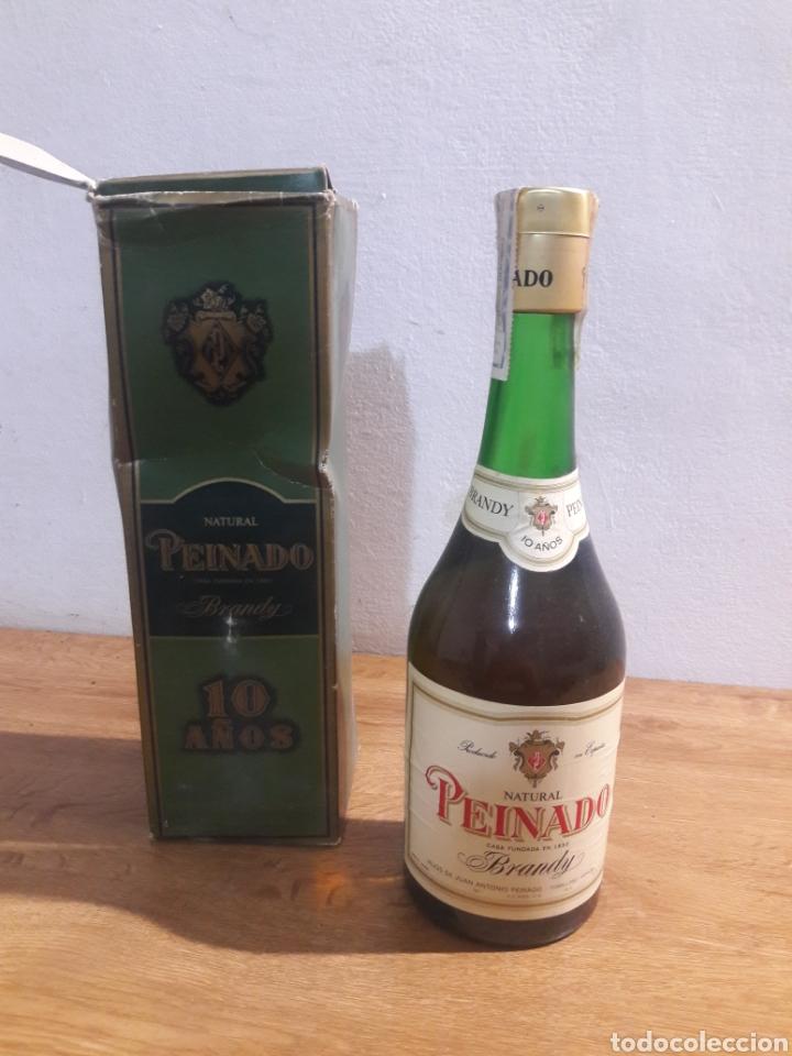 BRANDI PEINADO (Coleccionismo - Botellas y Bebidas - Vinos, Licores y Aguardientes)