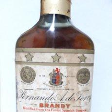 Coleccionismo de vinos y licores: PETACA BRANDY TERRY NEW YORK. Lote 207953861