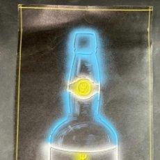 Coleccionismo de vinos y licores: DIBUJO ORIGINAL PUBLICITARIO DE VINO YNOCENTE. BODEGAS VALDESPINO. VER. Lote 208681977