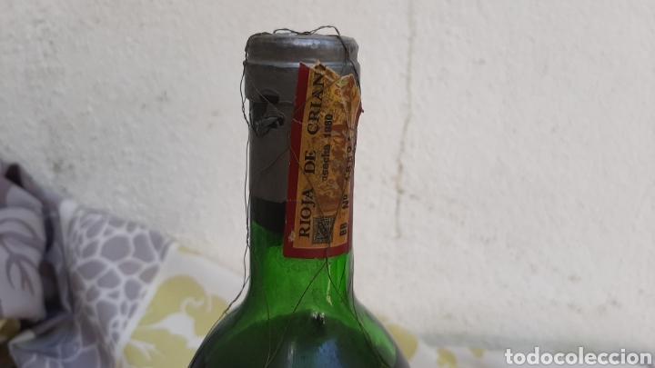 Coleccionismo de vinos y licores: BOTELLA DE VINO HERREDEROS DEL MARQUÉS DE RISCAL ELCIEGO (ALAVA) RIOJA 1980 - Foto 2 - 210009317