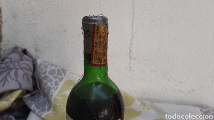 Coleccionismo de vinos y licores: BOTELLA DE VINO HERREDEROS DEL MARQUÉS DE RISCAL ELCIEGO (ALAVA) RIOJA 1980 - Foto 3 - 210009317
