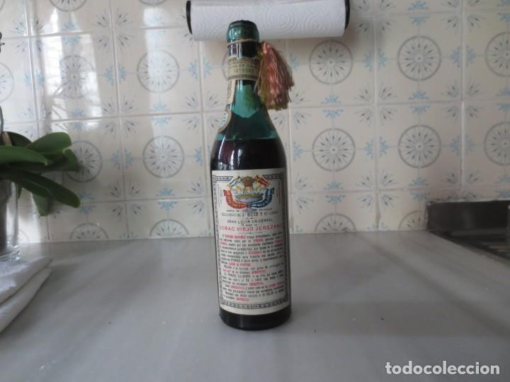 Coleccionismo de vinos y licores: BOTELLA PONCHE ESPAÑOL PREMIO DE HONOR BUENOS AIRES - Foto 2 - 210399420