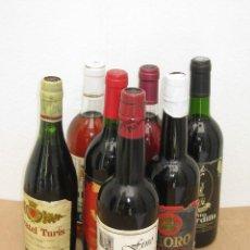 Collectionnisme de vins et liqueurs: LOTE DE 7 BOTELLAS DE VINO SIN FECHA DEFINIDA.. Lote 211794523