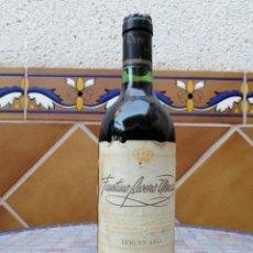 Coleccionismo de vinos y licores: BOTELLA DE VINO FAUSTINO RIVERO ULECIA COSECHA 1982. Lote 212013033