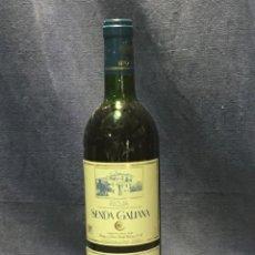 Coleccionismo de vinos y licores: BOTELLA RIOJA COSECHA 1992 BODEGA SENDA GALIANA VILLAMEDIA LA RIOJA 75CL. Lote 213772207