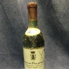 Coleccionismo de vinos y licores: BOTELLA VINO RIOJA CRIANZA BODEGAS PALACIO RESERVA ESPECIAL COSECHA 1935 75CL 12.5%VOL. Lote 213808550