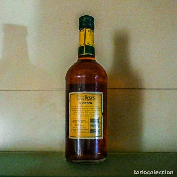 Coleccionismo de vinos y licores: Four Roses 8 Years Kentucky Straight Bourbon 1990s - Foto 2 - 214310940