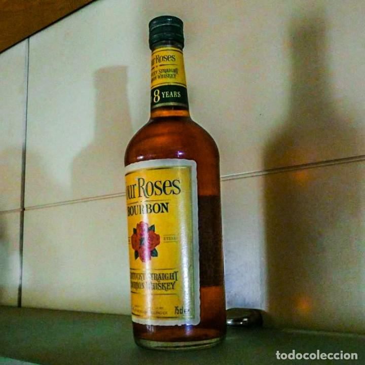 Coleccionismo de vinos y licores: Four Roses 8 Years Kentucky Straight Bourbon 1990s - Foto 4 - 214310940