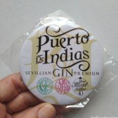 Coleccionismo de vinos y licores: ESPEJO PUERTO DE INDIAS GIN GINEBRA NUEVO. Lote 216773625