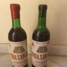 Coleccionismo de vinos y licores: LOTE DE 2 BOTELLAS DE VINO DE JUMILLA. Lote 216778351