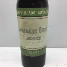 Coleccionismo de vinos y licores: BOTELLA DE AMONTILLADO SECO GONZALES BYASS - JEREZ. Lote 217634593