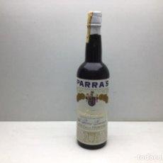Coleccionismo de vinos y licores: BOTELLA A.PARRA GUERRERO - PARRA'S - FINO PATRIMONIO - JEREZ DE LA FRONTERA. Lote 217635482