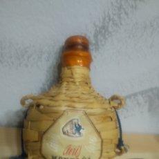 Coleccionismo de vinos y licores: PETACA BOTELLA ANÍS MONTAÑA GRANOLLERS BARCELONA - PRECINTADO - SELLO 50 CÉNTIMOS -. Lote 217644462