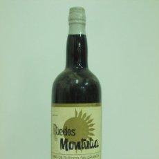 Coleccionismo de vinos y licores: ANTIGUA BOTELLA DE MONTILLA MORILES RUEDOS MONTULIA. Lote 217734692