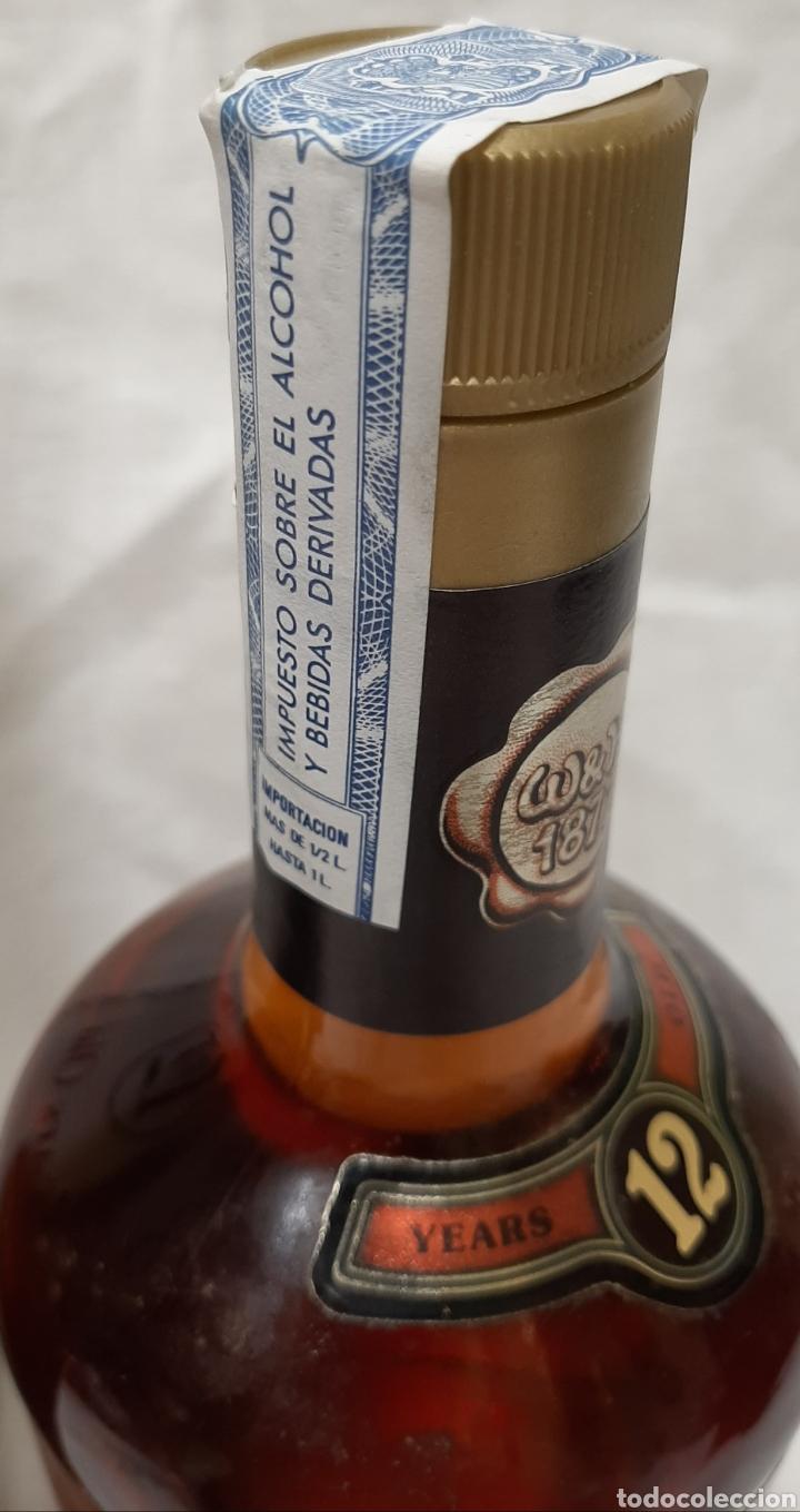 Coleccionismo de vinos y licores: HUMBERT BLACK LABEL 12 AÑOS SCOTCH WHISKY, 75 CL. PRECINTADO Y EN CAJA. - Foto 2 - 218095455