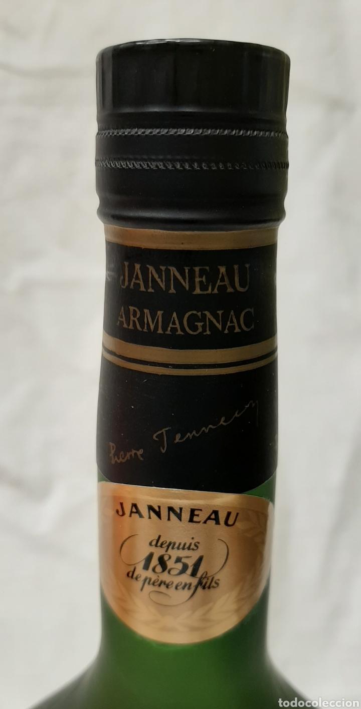 Coleccionismo de vinos y licores: ANTIGUA BOTELLA VERY OLD BRANDY NAPOLEON GRANDE FINE ARMAGNAC - Foto 4 - 218099776