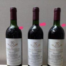 Coleccionismo de vinos y licores: 3 VEGA SICILIA ÚNICO 1968. Lote 218183510