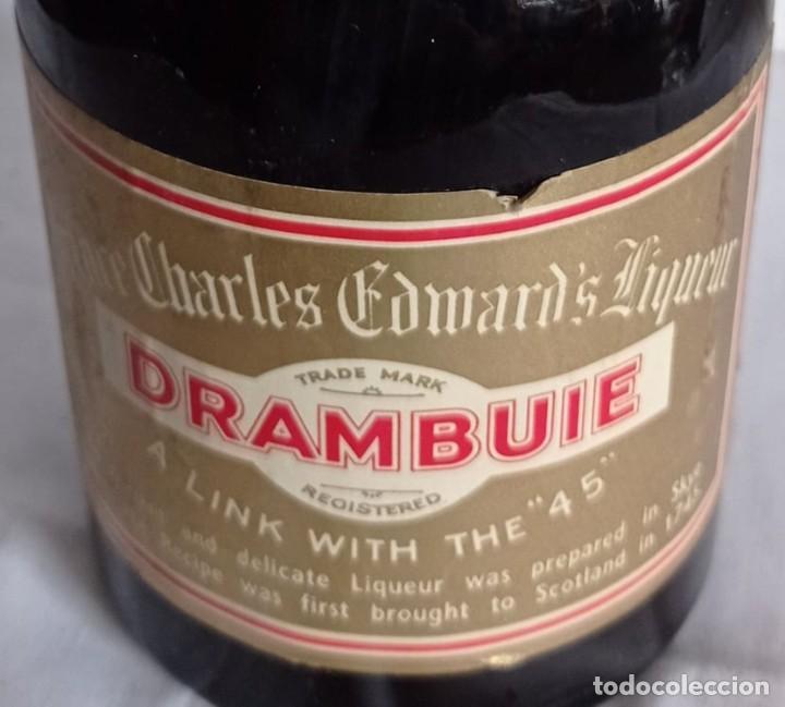 ANTIGUA BOTELLA LICOR DRAMBUIE (Coleccionismo - Botellas y Bebidas - Vinos, Licores y Aguardientes)