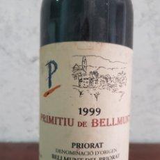 Coleccionismo de vinos y licores: VINO PRIMITIU DE BELLMUNT 1999. Lote 218719205
